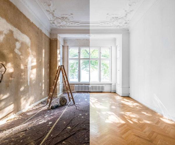 Altbausanierung München - Malerarbeiten München - Malereibetrieb Taufkirchen - Roberto Biancu - Maler München